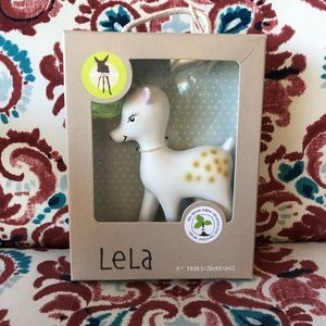 🤍LASSIG Multi Use Organic Deer Teether 🦌
